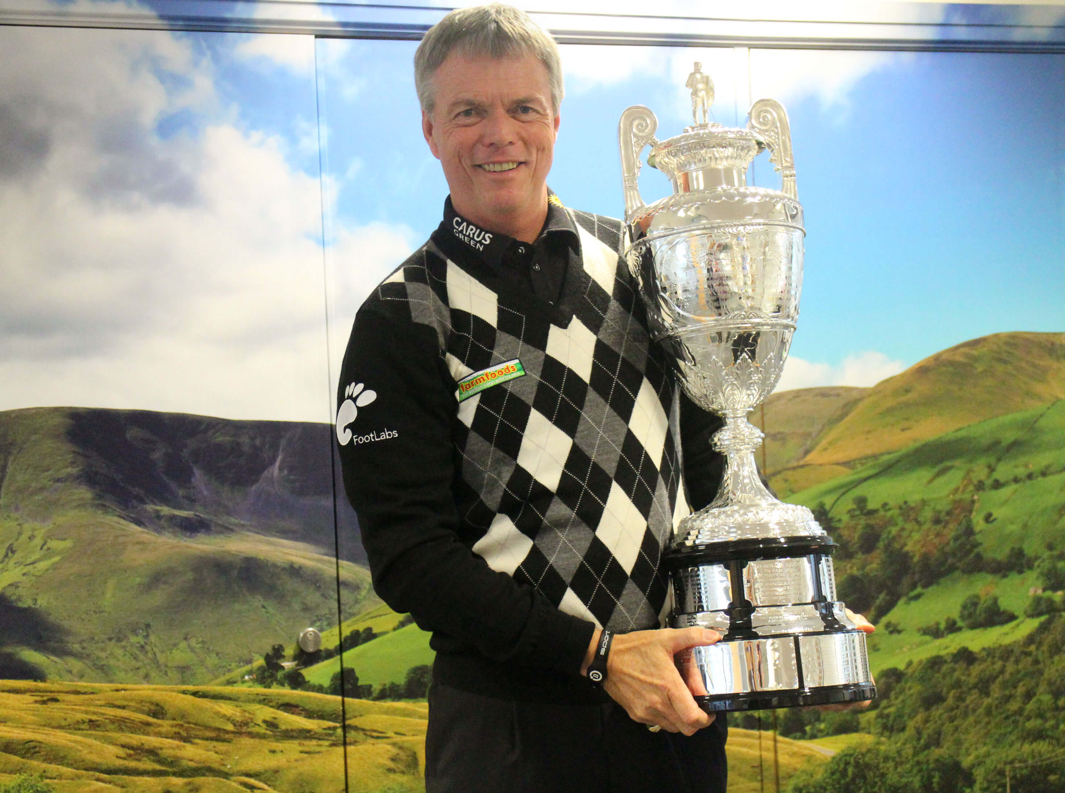 Gary with trophy